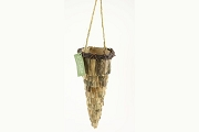 Adirondack Style Twig Cone Wall Hanger or Ornament
