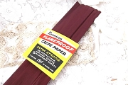 Vintage Dennison Maroon Crepe Paper Folds in Original Wrapper