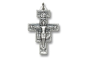 Saint Francis of Assisi's San Damiano Cross in Metal