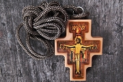 San Damiano Cross Pendant with Cord