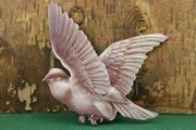 Victorian Die Cut and Embossed Dove (no rose)