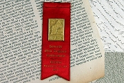 Vintage Delegate Ribbon - New England Conference 1931