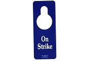 Door Hanger - On Strike