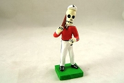 Day of the Dead Figure - Baseball Player