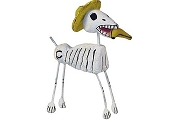 Day of the Dead Figures - el Perro (Dog) with Hat