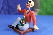 Day of the Dead Figure - Drunken Philosopher