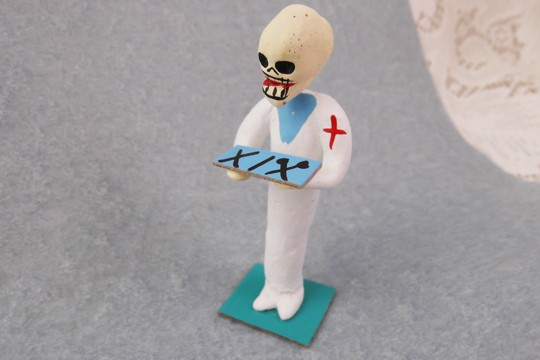 Intern Day of the Dead Figurine
