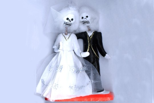 Large Day of the Dead Figures - Wedding - Large
