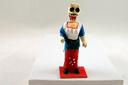 Mini Day of the Dead Figure - Woman in Slim Red Dress