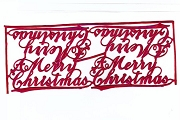 A Merry Christmas - Red Metallic Dresdens (4)