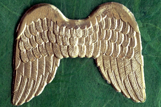 Special Golden Angel Wings Dresden - 1 Piece