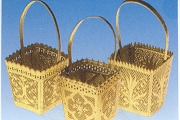 Golden Dresden Basket