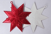 Single Sided RED Dresden Star Ornament Base