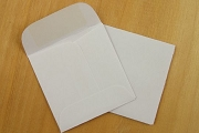 Tiny Jewelry Envelope with Gummed Flap - Packge of 10 (1-3/4 inch square)