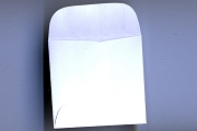 Package of 10 Mini White 1-3/4 inch Square Envelopes