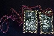 Embroidered Brown Scapular