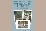 Fine Art Stickers: Impressionist Flowers