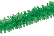 Old-Fashioned Festooning - GREEN - 25-foot Garland