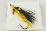 Vintage Fly Fishing Fly on Hook