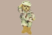 Military Bear: Proud to be an American