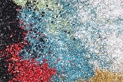 German Glass Glitter Sampler in 10 Colors