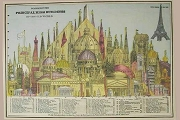 1 Sheet (Rolled) of Giftwrap Paper: Principal High Buildings of the World