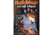 Old Fashioned Hallowe'en Stunt Board - New Old Stock