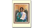 Angel Icon Style Holy Cards - Package of 5