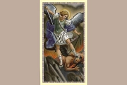 Package of 5 Holy Cards: Saint Michael the Archangel