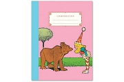 Bear & Candy Girl (from Little Nemo) Classic Composition Notebook
