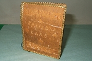 Vintage Hand Made Adirondack Birch Bark and Pine Needle Journal