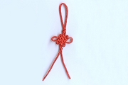 Red Chinese Knot Tassel