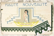 Haute Nouveauté Ruban Pour Lingerie - 1930s Vintage Forest Green French Lingerie Trim by the Inch