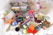 Little Darlings - Assortment of 50 Little Items for Art & Play