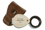 16mm 10x Economy Loupe with Carrying Case