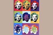 Andy Warhol - 9 Marilyns Magnet