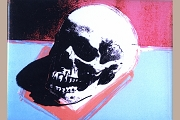 Magnet - Skull (Andy Warhol)