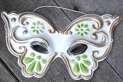 Vintage Plastic Butterfly Mask