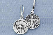 Saint Francis of Assisi Cat Medal