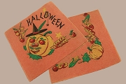 Vintage New Old Stock Hallowe'en Napkin