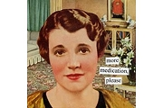 Napkins - Anne Taintor - more meds please