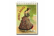 Spiral Bound Notebook - Jerez Dulce (Sweet Sherry)