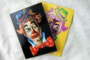 Colorful Clown Note Card