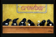 Crow Bar Note Card from Will Bullas