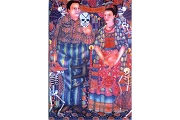 Diego y Frida Note Card