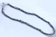 Pewter Freshwater Pearl Necklace