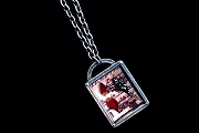 Musical Cupid Story Box Necklace