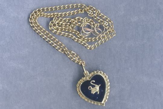Vintage Swan Necklace