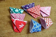 Little Washi Paper Origami Cup