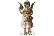 Extra Large Victorian Angel Die Cut Ornament